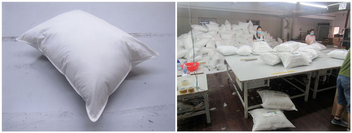 Pillow and Textile products quality control inspection service