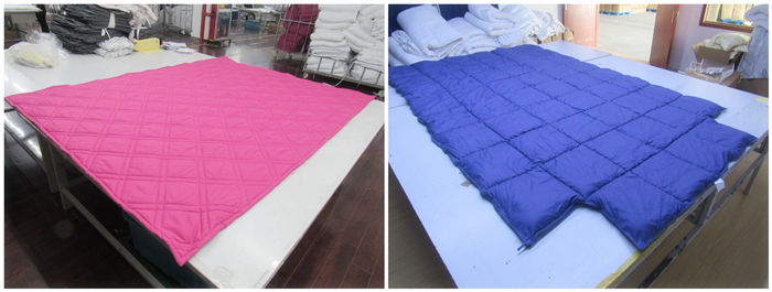 bedspread and bedding textile products quality control inspection service