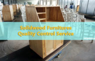 Home furnitures, solid-wood storage shelf quality control service in China