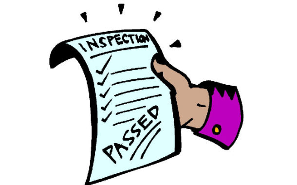 3 different product inspection result in Third Party Inspection report