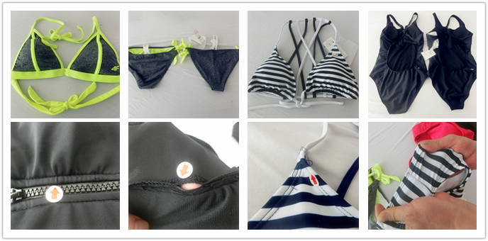 Swimwear Bikini or swinsuit product inspection services in China