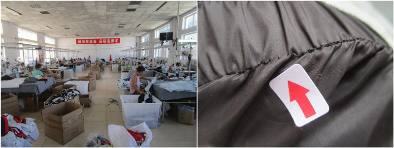 2 classified appearance quality requirement in garment industry.