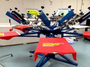 Garment Printing process